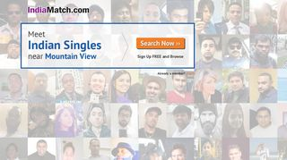 IndiaMatch.com - The Indian Singles Dating Service