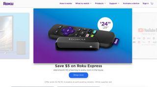 Roku - Streaming players and smart TV