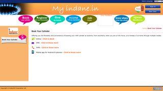 Indane Online : Consumer Login - Indane Gas