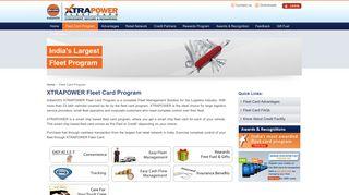 Fleet Card Program - XTRAPOWER Fleet Card
