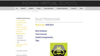 Buzz Resources | Indiana Virtual School