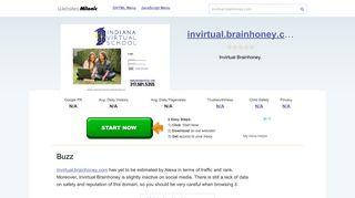 Invirtual.brainhoney.com website. Buzz.