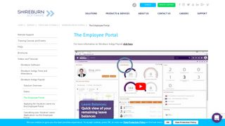 The Employee Portal | Shireburn Software