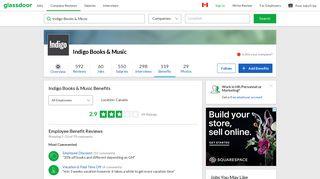 Indigo Books & Music Employee Benefits and Perks | Glassdoor.ca