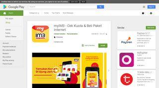 myIM3 - Cek Kuota & Beli Paket Internet - Apps on Google Play