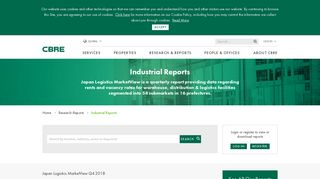 Industrial Reports | CBRE