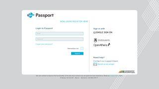 Log in | Passport