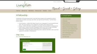 InFellowship (LF Info/Forms) - Living Faith Christian Church