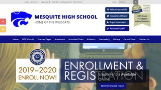 Infinite Campus - Mesquite High School