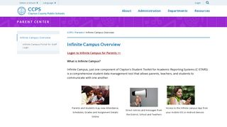 Infinite Campus Overview - CCPS - Clayton County Public Schools