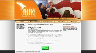 Infinite Campus App - Belpre City Schools