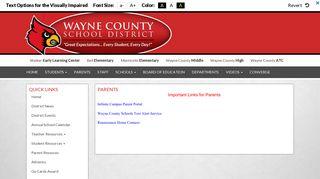 PARENTS - Wayne County School District