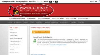 Login - Wayne County School District