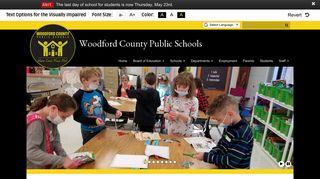 Woodford County Public Schools: Home