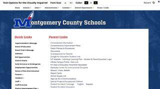 Parent Links - Montgomery County Public Schools