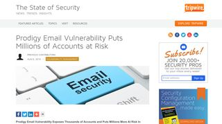 Prodigy Email Vulnerability Puts Millions of Accounts at Risk   The ...