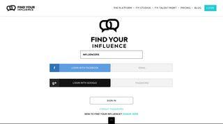 Influencer Marketing Platform   Social Media Influencers Platform