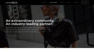 rewardStyle: Influencer Marketing For Influencers, By Influencers