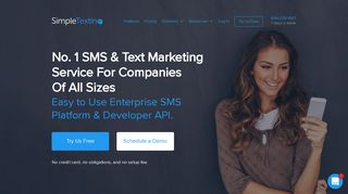 SMS Marketing & Text Marketing Services – Try It For Free