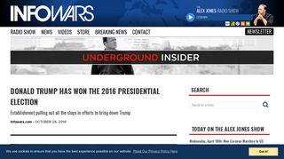 Newsletter Content - Infowars