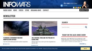 Newsletter – Page 4 - Infowars