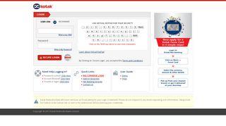 KMBL Net Banking Login - Kotak Mahindra Bank