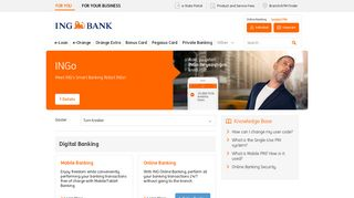 Digital Banking - ING Bank