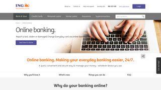 Online Banking – ING