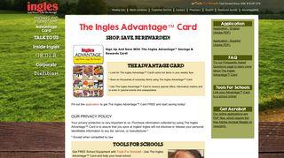 Advantage Card - Ingles Markets
