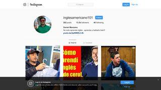 Daniel Manzano (@inglesamericano101) • Instagram photos and videos