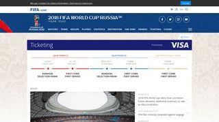 Brazil 2014 tickets - FIFA.com - 2018 FIFA World Cup Russia ...