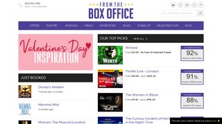 From The Box Office: London Theatre Tickets