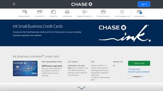 Ink Business | Credit Cards | Chase.com