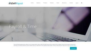 Payroll & Employee Time Tracking | Inova Payroll