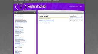 Ragland School: Latest News - Weather Delay 1/8/15
