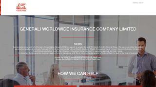 Generali Worldwide | Pensions Investments Savings Healthcare