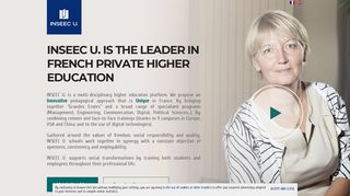 our educative programs - INSEEC U. - Leader in French private higher ...