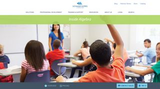 Inside Algebra   Contact Sales to Learn More   Pricing