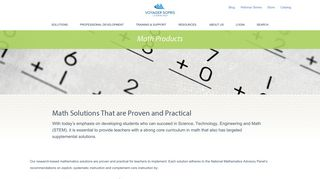 Math - Voyager Sopris Learning
