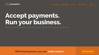 PayAnywhere: Mobile Credit Card Reader with App For Phone ...