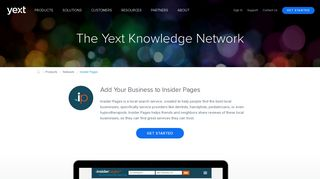 Insider Pages   Update Your Insider Pages Business Listings - Yext