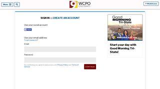 Sign In - WCPO.com