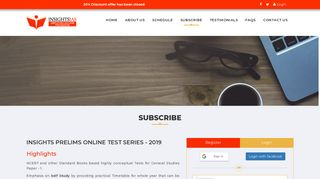 Subscribe - Insights IAS 2019   Insights Test Series for UPSC IAS ...