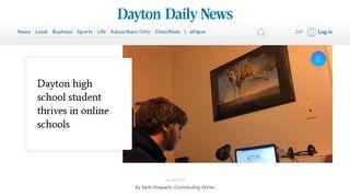 Insight School of Ohio: Dayton student thrives in online school