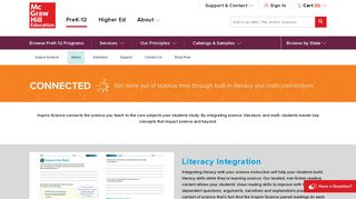 Inspire Science K–5 | Connected - McGraw-Hill Education