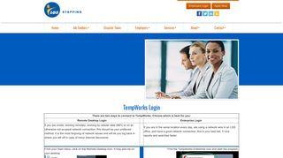 TempWorks Login - LGS Staffing
