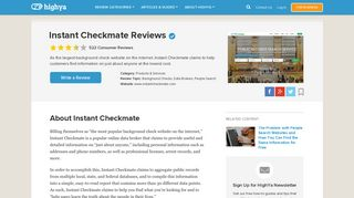 Instant Checkmate Reviews - Is it a Scam or Legit? - HighYa