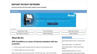 Instant Payday Network – The Go-To site for the truth about Instant ...