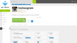download instwogram 6.2.2 free (android)
