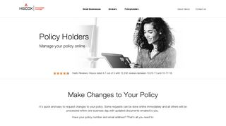 Manage Your Policy | Hiscox